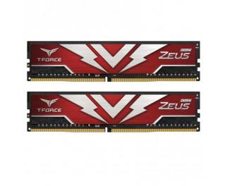 Оперативная память DDR4 16 Gb (3000 MHz) (Kit 8 Gb x 2) Team T-Force Zeus Red (TTZD416G3000HC16CDC01)