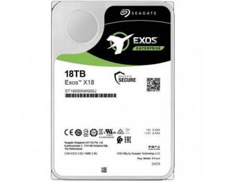Жесткий диск 18 TB Seagate Exos X18 (ST18000NM000J)