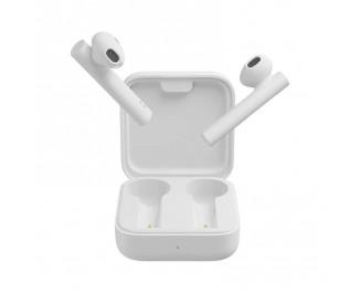Наушники беспроводные Xiaomi Mi True Wireless Earphones 2 Basic White (TWSEJ08WM / BHR4089GL) Global