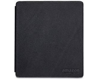 Обложка для электронной книги Amazon Kindle Oasis 9th & 10th Gen.  Amazon Leather Case Black