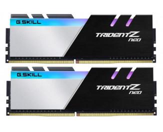Оперативная память DDR4 64 Gb (Kit 32 Gb x 2) (3600MHz) G.SKILL Trident Z Neo (F4-3600C18D-64GTZN)