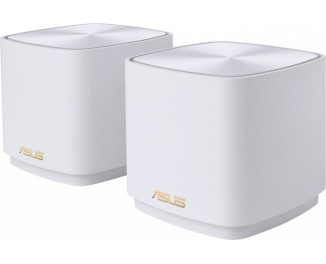 Маршрутизатор ASUS ZenWiFi XD4 2PK White (XD4-2PK-WHITE)