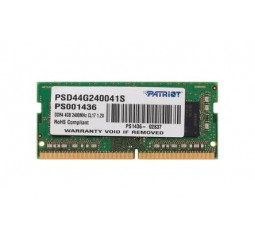 Память для ноутбука SO-DIMM DDR4 4 Gb (2400 MHz) Patriot Signature (PSD44G240041S)