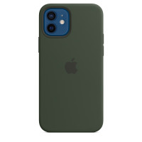 Чехол для Apple iPhone 12 / 12 Pro  Apple Silicone Case with MagSafe Cyprus Green (MHL33)