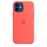 Чехол для Apple iPhone 12 / 12 Pro  Apple Silicone Case with MagSafe Pink Citrus (MHL03)