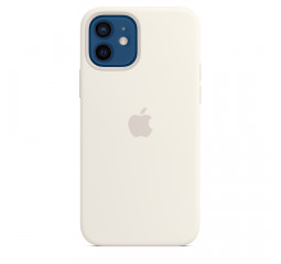 Чехол для Apple iPhone 12 / 12 Pro  Apple Silicone Case with MagSafe White (MHL53)