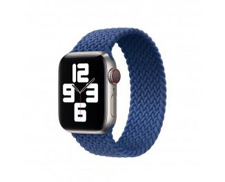Плетёный монобраслет для Apple Watch 38/40 mm Apple Solo Loop Atlantic Blue (MY722), Size 7