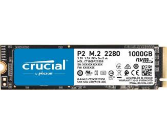 SSD накопитель 1 TB Crucial P2 (CT1000P2SSD8)