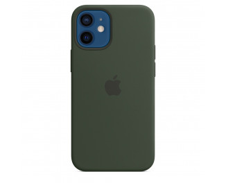 Чехол для Apple iPhone 12 mini  Apple Silicone Case with MagSafe Cyprus Green (MHKR3)