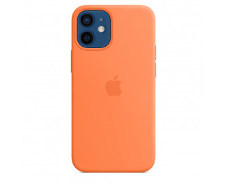 Чехол для Apple iPhone 12 mini  Apple Silicone Case with MagSafe Kumquat (MHKN3)