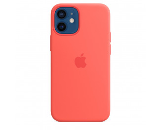 Чехол для Apple iPhone 12 mini  Apple Silicone Case with MagSafe Pink Citrus (MHKP3)