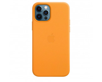 Чехол для Apple iPhone 12 Pro Max  Apple Leather Case with MagSafe California Poppy (MHKH3)