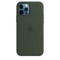 Чехол для Apple iPhone 12 Pro Max  Apple Silicone Case with MagSafe Cyprus Green (MHLC3)