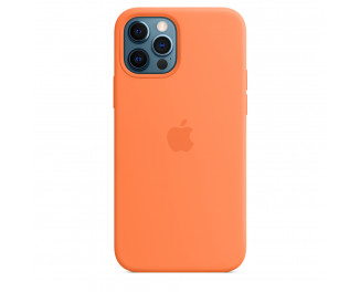 Чехол для Apple iPhone 12 Pro Max  Apple Silicone Case with MagSafe Kumquat (MHL83)