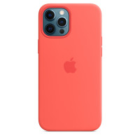 Чехол для Apple iPhone 12 Pro Max  Apple Silicone Case with MagSafe Pink Citrus (MHL93)