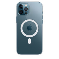 Чехол для Apple iPhone 12 Pro Max  Apple Silicone Case with MagSafe Clear Case (MHLN3)