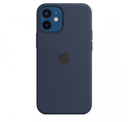 Чехол для Apple iPhone 12 mini  Apple Silicone Case with MagSafe Deep Navy (MHKU3)