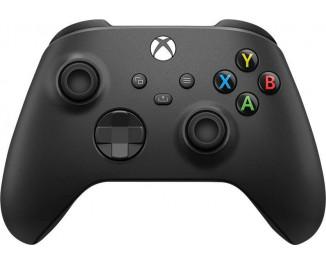 Геймпад беспроводной Microsoft Xbox Series X | S Wireless Controller Carbon Black (XOA-0005, QAT-00001)