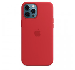 Чехол для Apple iPhone 12 Pro Max  Apple Silicone Case with MagSafe (PRODUCT)RED (MHLF3)