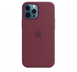 Чехол для Apple iPhone 12 Pro Max  Apple Silicone Case with MagSafe Plum (MHLA3)