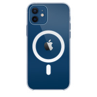 Чехол для Apple iPhone 12 / 12 Pro  Apple Silicone Case with MagSafe Clear Case (MHLM3)