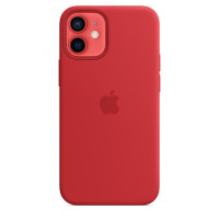 Чехол для Apple iPhone 12 mini  Silicone Case Red