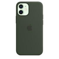 Чехол для Apple iPhone 12 mini  Silicone Case Green