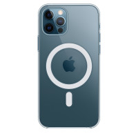 Чехол для Apple iPhone 12 Pro Max  Silicone Case with MagSafe Clear Case