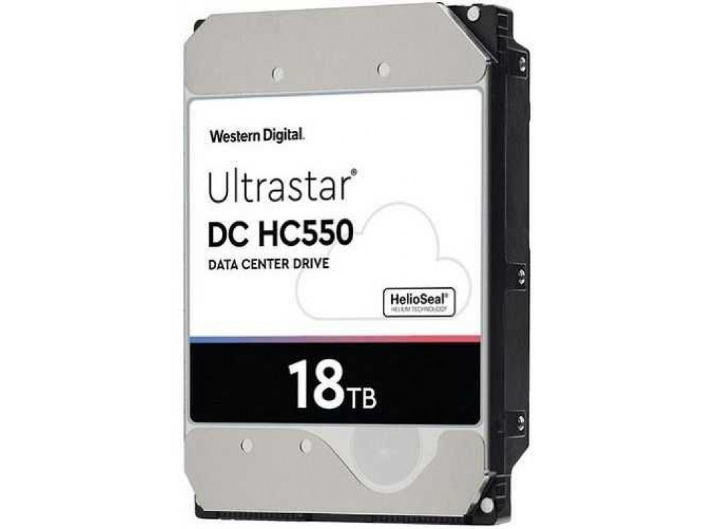 Жесткий диск 18 TB WD Ultrastar DC HC550 (WUH721818ALE6L4 / 0F38459)