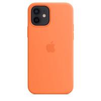 Чехол для Apple iPhone 12 mini  Silicone Case with MagSafe Kumquat