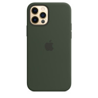 Чехол для Apple iPhone 12 Pro Max  Silicone Case with MagSafe Cyprus Green