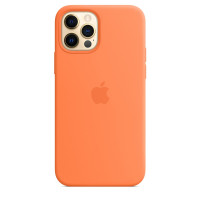 Чехол для Apple iPhone 12 Pro Max  Silicone Case with MagSafe Kumquat