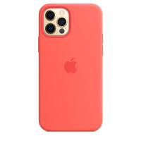 Чехол для Apple iPhone 12 Pro Max  Silicone Case with MagSafe Pink Citrus