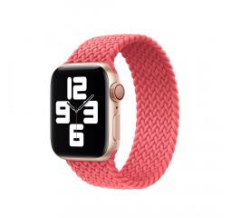 Плетёный монобраслет для Apple Watch 38/40 mm Apple Solo Loop Pink Punch (MY6E2), Size 5