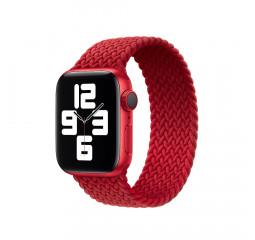 Плетёный монобраслет для Apple Watch 38/40 mm Apple Solo Loop (PRODUCT)RED (MY7L2), Size 6