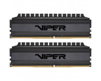 Оперативная память DDR4 32 Gb (3600 MHz) (Kit 16 Gb x 2) Patriot Viper 4 Blackout (PVB432G360C8K)