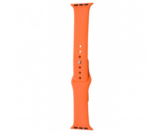 Силиконовый ремешок для Apple Watch 42/44 mm Sport Band 3pcs Orange