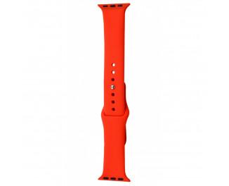 Силиконовый ремешок для Apple Watch 42/44 mm Sport Band 3pcs Red