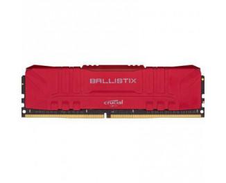 Оперативная память DDR4 16 Gb (2666 MHz) Crucial Ballistix Red (BL16G26C16U4R)