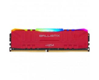 Оперативная память DDR4 16 Gb (3000 MHz) Crucial Ballistix Red RGB (BL16G30C15U4RL)