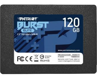 SSD накопитель 120Gb Patriot Burst Elite (PBE120GS25SSDR)