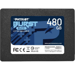 SSD накопитель 480Gb Patriot Burst Elite (PBE480GS25SSDR)