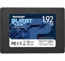 SSD накопитель 1.92 TB Patriot Burst Elite (PBE192TS25SSDR)