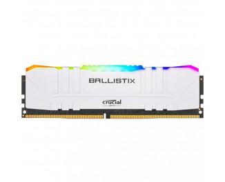 Оперативная память DDR4 16 Gb (3600 MHz) Crucial Ballistix White RGB (BL16G36C16U4WL)