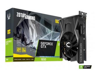 Видеокарта ZOTAC GeForce GTX 1650 GDDR6 OC (ZT-T16520F-10L)