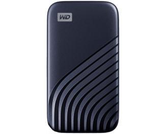 Внешний SSD накопитель 500Gb WD My Passport Midnight Blue (WDBAGF5000ABL-WESN)