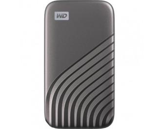 Внешний SSD накопитель 500Gb WD My Passport Space Gray (WDBAGF5000AGY-WESN)