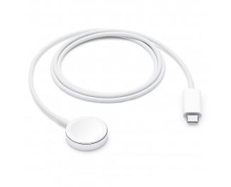 Кабель Apple для зарядки Apple Watch USB-C с магнитным креплением 1.0m (MX2H2)