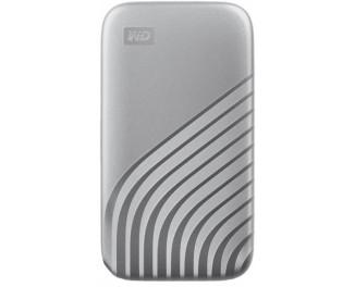 Внешний SSD накопитель 2 TB WD My Passport Silver (WDBAGF0020BSL-WESN)