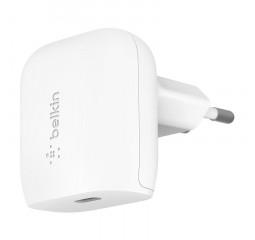 Сетевое зарядное устройство Belkin Home Charger 20W USB-C (WCA003VFWH)